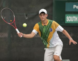 Brandon Laubser of South Africa was named top seed in the boys of the Wanderers ITF.