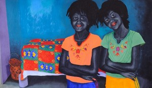 Painting by Zwelethu Mthethwa