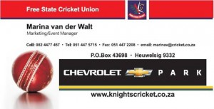 Ram Slam T20 : Chevrolet Knights vs. Chevrolet Warriors