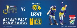 The Nashua Cape Cobras are kicking off their Momentum One Day Domestic