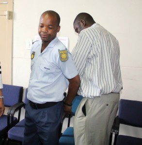 Constable Mpho Matsoso was remanded in custody and will appear again on 5 November 2015