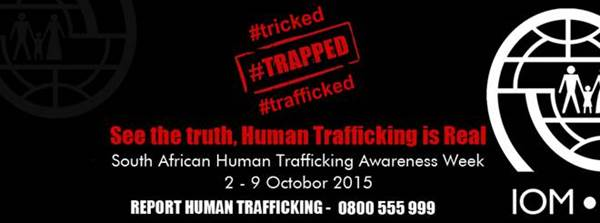 IOM observes Human Trafficking Awareness Week 2015 in South Africa