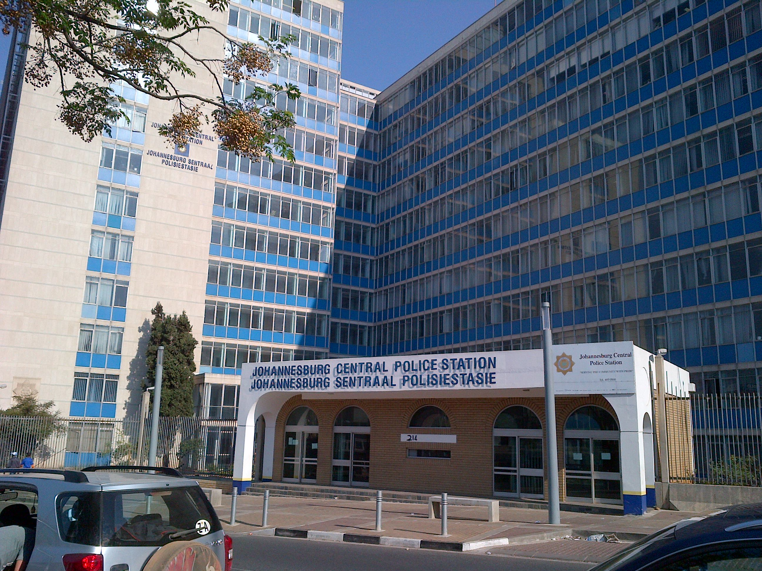 jhb central police stationformerly known as john vorster