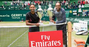 South African-American duo claims second team title