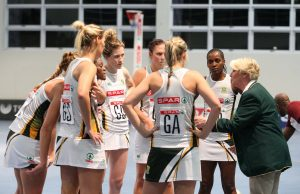 Norma Plummer (SPAR Proteas Coach) coaches the Proteas during the final of the Diamond Challenge