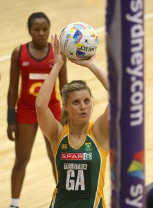 The Captain of the SPAR Proteas Maryka Holtzhausen