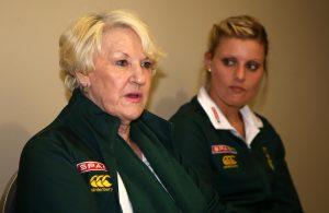 Norma Plummer (SPAR Proteas Coach) and Right: Maryka Holtzhausen (SPAR Proteas Captain)