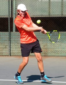 South African sixth seed, Philip Henning won through to the boys semi-finals of the ITF Wanderers international junior tournament being played at the Wanderers Sporting Club in Johannesburg. Henning of Bloemfontein upset compatriot and second seed Richard Thongoana of Johannesburg 6-3 7-5 in the quarterfinals on Thursday. Henning will now play fellow South African, Sipho Montsi, the fourth seed, in Friday's semi-final.
