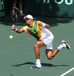Raven Klaasen (Photo by Reg Caldecott/Gallo Images)