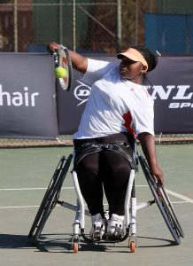 Women's second seed Thando Hlatswayo booked a spot in the semi-finals of the Soweto Open on Friday at Arthur Ashe Tennis Center in Soweto. Hlatswayo defeated Phoebe Masika from Kenya 6-3 6-3 to advance.