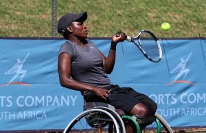 South Africa's leading wheelchair tennis ace Kgothatso Montjane clinched the Belgian Open women's doubles with her Colombian partner Angelica Bernal on Saturday outplaying the top seed team of Sabine Ellerbrock (GER) and Pauline Helouin (FRA) in the final.