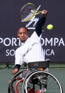 The country's top wheelchair tennis quad ace Lucas Sithole added another title to his accolades when he clinched his second doubles title in Geneva, Switzerland on Friday.