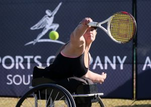 Women's top seed Mariska Venter has advanced to the last four, beating compatriot Mabel Mankgele 6-4 6-3 in the Soweto Open quarter-finals at Arthur Ashe Tennis Center in Soweto on Friday.