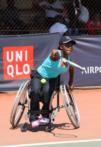 Wheelchair tennis rising star Nokwanda Hlongwane was hugely honored and could claim awards in two categories this year at the SPAR Gsport Awards for the Junior Athlete of the Year and School Sports Star of the Year category.