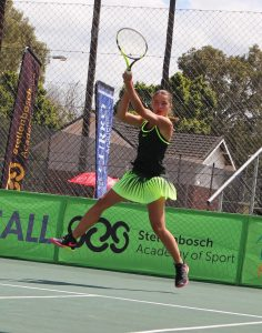 Unseeded Maelys Bougrat of France, continued her winning streak on Thursday at the Curro ITF 1 junior international tennis tournament being played at the Stellenbosch University.  Bougrat ended the fine run of South Africa's Linge Steenkamp, also unseeded, winning 6-3 6-1. In Friday's semi-final Bougrat will come up against unseeded Holly Fischer of Great Britain.