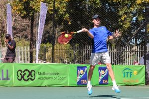 Unseeded South African, Rossouw Norval beat compatriot Benjamin Peterson, a qualifier, 6-3,6-0 in round one of the Curro Junior ITF 1 played at the University of Stellenboch on Monday. Norval will now play South African Taine Bernhird in round two.