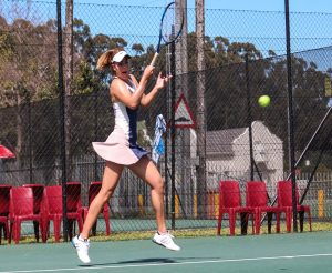 Top seeded  South African, Minette van Vreden dominated Tali Sulcas also of South Africa  6-1, 6-0 in round one of the Curro Junior ITF 1 played at the University of Stellenboch on Monday.