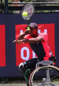 Evans Maripa, the country's leading wheelchair tennis men's player wins the Sportsman of the year with a disability award at Limpopo Sports and recreation awards ceremony announced at Protea Hotel Ranch Resort on Saturday evening.