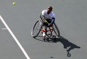 South Africa's Lucas Sithole, ranked three in the world, missed out on a bronze medal as he went down 1-6 6-2 7-5 to the American six-time Paralympic medalist David Wagner in a grueling one hour and 50 minutes at Olympic Tennis Centre in Brazil on Wednesday evening.