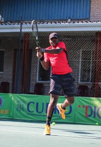South Africa's Richard Thongoana,  won through to Saturday's final of the boys singles of the Curro ITF 2 junior international tennis tournament being played at the Stellenbosch University. Thongoana battled against his fellow countryman Bertus Kruger seeded three 0-6 6-1 6-1 to advance to the final. Top seed, Thongoana, will now face 2nd seeded compatriot Joshua Hpward-Tripp in Saturday's final.