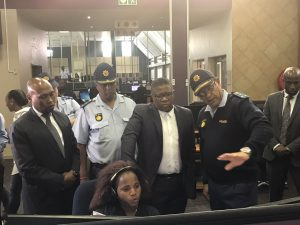 MINISTER FIKILE MBALULA VISIT 10111 CALL CENTER