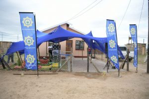 SAPS donates a house to Gogo and five grandchildren in Motherwell NU12