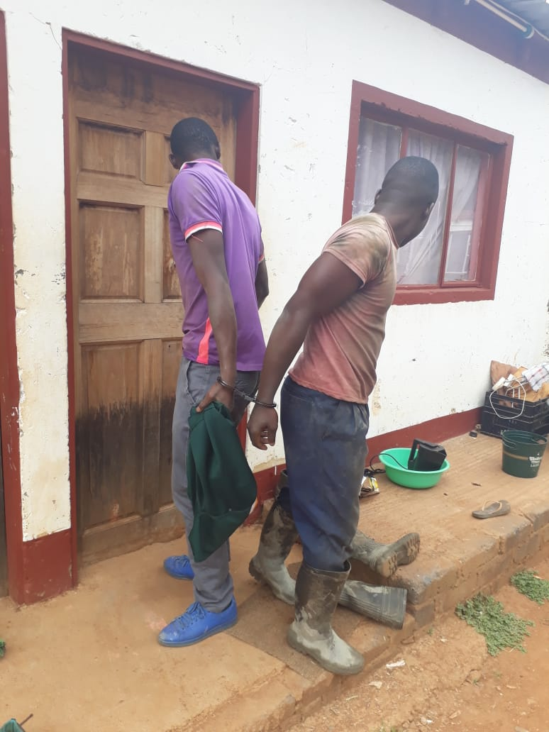 ARRESTED FOR OPERATING GOLD PROCESSING PLANT