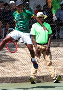 KHOLO MONTSI FOLLOWS IN TRAILBLAZING FOOTSTEPS OF BROTHER SIPHO – BOTH CAPPED FOR DAVIS CUP AS 17-YEAR-OLDS