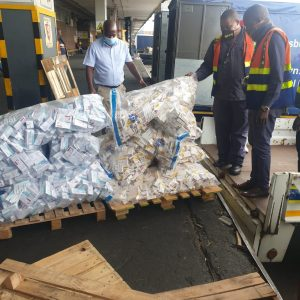 UNREGISTERED MEDICINES WORTH R126 MILLION RANDS SEIZED AT OR TAMBO AIRPORT