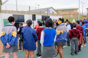 YOUTH OF GQEBERHA GIVEN OPPORTUNITY TO DEVELOP SKILLS THROUGH TENNIS