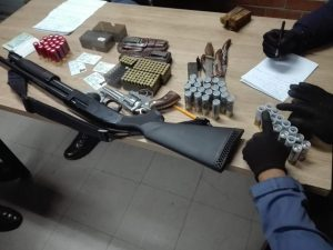 FIVE FIREARMS SEIZED DURING PLESSISLAER OPERATIONS