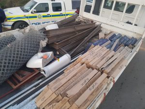 Read more about the article AN INTELLIGENCE DRIVEN OPERATION YIELDS POSITIVE RESULT AS MAN ARRESTED WITH STOLEN BUILDING MATERIAL