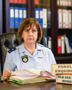Read more about the article SAPS PAYS TRIBUTE TO WOMEN IN LAW ENFORCEMENT: LT COL MYBURGH ONE OF FOUR FEMALE CRIMINOLOGISTS IN SAPS  ASSISTS IN PUTTING FACEBOOK SERIAL RAPIST BEHIND BARS
