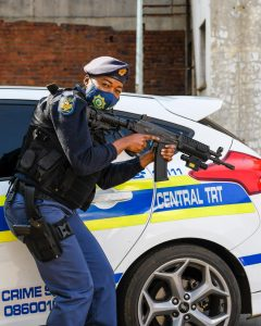 Read more about the article SAPS PAYS TRIBUTE TO WOMEN IN LAW ENFORCEMENT: MEET SERGEANT MINAH THINANE A TRT OPERATOR