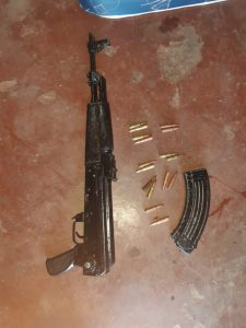Read more about the article AK47 SEIZED DURING POLICE OPERATION